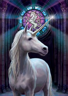 Enlightenment greeting card by Anne Stokes