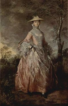 Portrait of Mary Countess Howe - Thomas Gainsborough