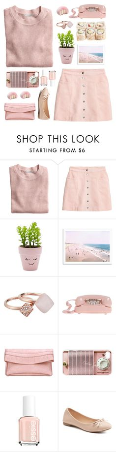 """pastel"" by tinkertot ❤ liked on Polyvore featuring H&M, New Look, Michael Kors, Samsung, Essie and SO"