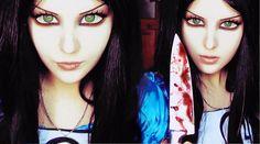 Alice Madness Returns Halloween Make-up Look 1 by Anastasiya Shpagina - She's so talented!!!