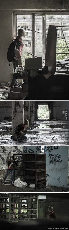 Some photos from my The Last of Us cosplay photoshoot