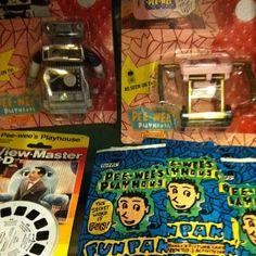 Ready for some @peeweeherman toys? Mmmmmm vintagey!