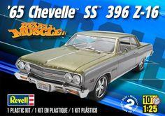 1965 Chevy Chevelle SS 396 Plastic Model Kit