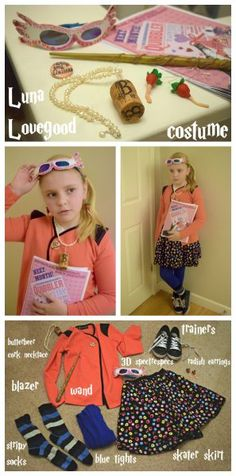 Luna Lovegood Costume - an easy costume to put together for Harry Potter fans.