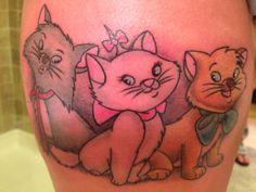 My new #aristocats #tattoo #loveit