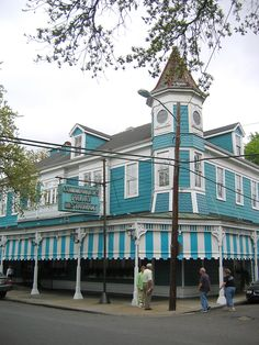 New Orleans Garden District: Commander's Palace. The whole experience was to die for...and my waiters name was Remy...want to do it again!!!!