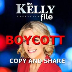 Megyn Kelly Getting Hammered on Twitter, People Threatening to Boycott 'The Kelly File' http://www.youngcons.com/megyn-kelly-getting-hammered-on-twitter-people-threatening-to-boycott-the-kelly-file/ boycott and write to fox to get rid of her-oh wait, fox is being taken over by the leftwing son of current owner. he probably agrees with the national inquirer debate kelly ran