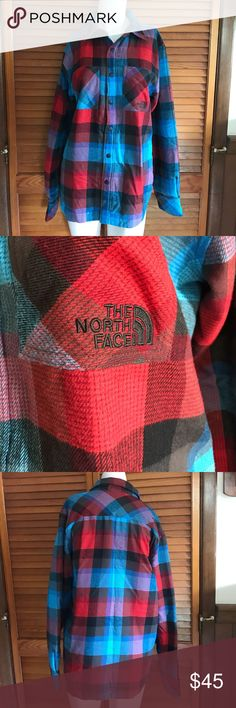 Men's north face fort point plaid jacket Small Men's north face fort point insulated jacket size small. Jacket is button down, has pockets at the chest for storage, and is collared (no hood). Jacket is in excellent used condition- no rips/stains/holes etc. North Face Jackets & Coats Lightweight & Shirt Jackets