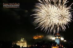 Edinburgh Festival Fireworks  The fireworks display that marks the end of the Edinburgh International Festival is the world's biggest annual fireworks concert. The fireworks are choreographed to music played by the Scottish Chamber Orchestra, and are set against the backdrop of Edinburgh Castle.  #balmoralhotel #edinburgh #edinburghcastle #edinburghfestival #edinburghtattoo #fireworks #scotland #frasermccullochphotography