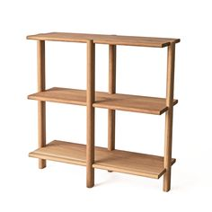 White Oak, fixed shelves. * Our Shelving Unit is available in custom finishes and sizes. Oak Shelving Unit, Wood Shelves, White Oak, Solid Wood, Bookcase, Furniture, Design, Home Decor, Usa