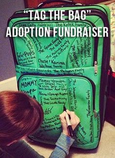 I know a few days ago, I said we would not be doing any more fundraising, but . . . I came across this creative and fun way to fund the fina...
