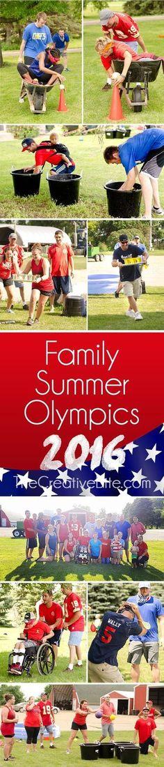 Family Summer Olympics 2016 - Backyard Games