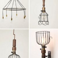 Wire Frame Lampshade Trend