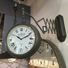 Vintage ρολόι σταθμού by villart.gr