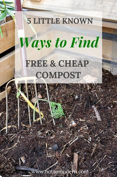 Little Known Ways to Find Cheap Compost Find free and cheap compost for your vegetable garden from these 5 little known sources.Find free and cheap compost for your vegetable garden from these 5 little known sources. Garden Compost, Garden Soil, Herb Garden, Vegetable Gardening, Chicken Garden, Water Garden, Mushroom Compost, Garden Mushrooms, Bokashi
