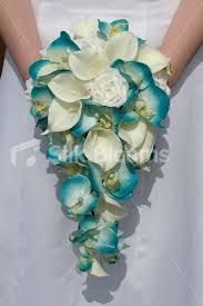 Image result for wedding flowers teal
