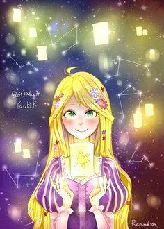 Rapunzel fanart Repost with permission. #rapunzel #fanart #anime #illustration #lovely