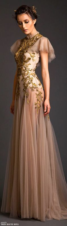 So Beautiful!!! (for opera/ballet??) Krikor Jabotian Couture S/S 2014