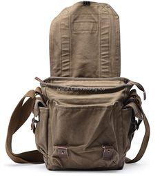 Canvas Shoulder Bag, Small Shoulder Bag, Shoulder Purse, Leather Crossbody Bag, Leather Bag, Crossbody Bags, Canvas Messenger Bag, Vintage Canvas, Brown Canvas