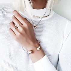 Beautiful gold jewellery