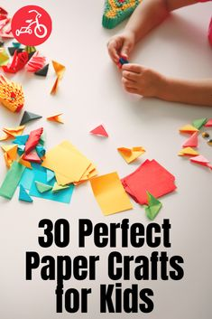 Amazing & Easy Paper Craft Ideas for Kids Paper Bag Crafts, Paper Crafts For Kids, Preschool Crafts, Diy Kid Crafts For Boys, Easy Art For Kids, Kids Diy, Paper Doll Chain, Paper Dolls, Fun Activities For Kids