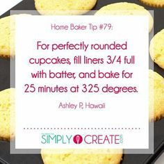 Cupcakes Baking Tips Baking tips for cupcakes Baking Secrets, Baking Tips, Baking Recipes, Baking Hacks, Baking Substitutions, Bread Baking, Cupcake Recipes, Cupcake Cakes, Baking Cupcakes