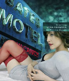 Vera Farmiga @ Bates Motel