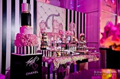 Taylor's Chanel Themed Sweet 16 Extravaganza at The Temple House