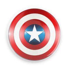 Capt. America Pinback Button