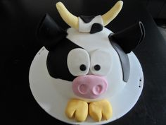 animal cake - cow