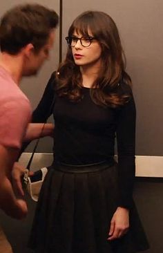 Casual Fashion Inspiration from Zooey Deschanel - Cute Everyday Clothes, WWZDW? What would Zooey Deschanel wear?