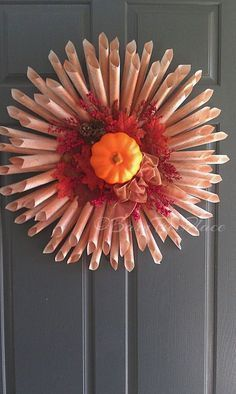 store fall book page wreath, crafts, home decor, wreaths Holiday Wreaths, Holiday Ornaments, Holiday Decor, Fall Crafts, Diy Crafts, Arts And Crafts, Diy Wreath, Wreath Crafts, Wreath Fall