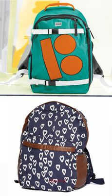 West 49 backpacks the top one