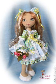 Куклы и игрушки ручной работы. Ярмарка Мастеров - ручная работа Выкройка текстильной куклы. Handmade.