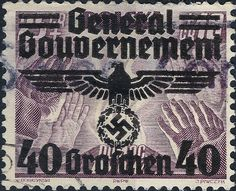 German Reich - General Gouvernement of Poland 1939