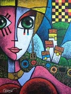 CERON - Pop Art Miami - Neo-Pop Cubism Artist – Art Miami, Colombian Artist Francisco Ceron