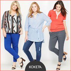 Maxi fashion: μπλούζες και παντελόνια για την Άνοιξη 🍀 https://www.koketa.gr/content/maxi-fashion 🍀