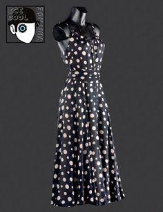 """60s 'Lanvin - Paris"""" dress."""