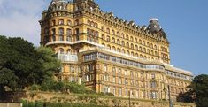 Built in 1863, the Grand Hotel #Scarborough takes pride of place overlooking the town's picturesque harbour and South Bay. The Grand hotel consists of two  restaurants, coffee shop, free Wi-Fi in public areas, Car Parking, Nightly In-house entertainment team including cabaret and bingo, Weddings and three conference rooms. All of the hotel's bedrooms are fully equipped with private bathrooms, a TV, hairdryer and tea/coffee facilities.  #UKHoliday…