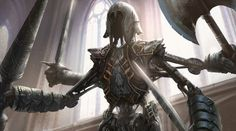 weekly-mtg-posts:  The art of James Paick Armory...