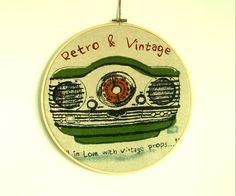 Cuadro Bastidor Vintage