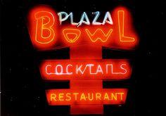 Plaza Bowl - love the font