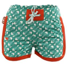 Knotsknetter - 4funkyflavours jongens zwembroek Good Vibrations - Jongenskleding