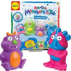 Baby Toys - Alex Monsters In The Tub