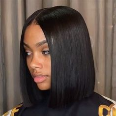 Brazilian Straight Hair Short Bob Cut Wigs Adjustable Pre Plucked top lace Closure Bob Cut Human Hair Wigs For Black Women Wholesale worldwide shipping factory cheap price on sale Remy Human Hair, Remy Hair, Human Hair Wigs, Afro Wigs, Short Bob Hairstyles, Weave Hairstyles, Black Hairstyles, Bob Haircuts, Straight Haircuts