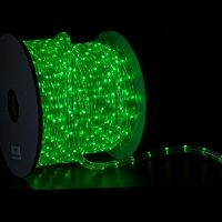 1 2 Inch Green Led Rope Light Led Rope Lights Green Led Christmas Lights