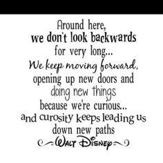 Keep moving forward!!
