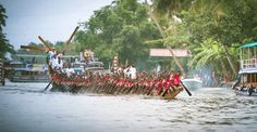 'Chundan Vallam' Annual Snake Boat Race in Kerala India with 90-110 rowers approximately. - The Nehru Trophy Boat Race is a popular annual Vallam Kali held in the Punnamada Lake near Alappuzha, Kerala, India. #vallamkali #snakeboatracekerala #snakeboatrace #nehrutrophy #snakeboatkerala #chundanvallam #PunnamadaLake #Alappuzha #Alappey #kerala