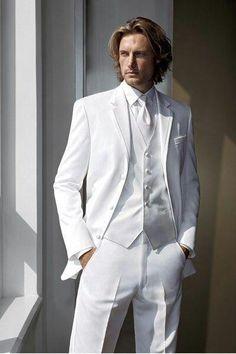 Groom Tuxedo Men Groom Wear Bridegroom Groomsman Best Man Suit Evening Formal  #Handmade #Tuxedo