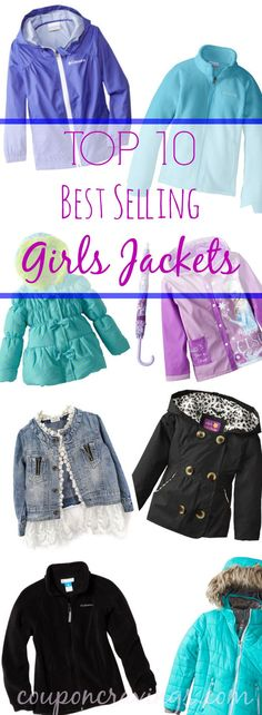 Don't let back to school shopping get in your way of finding a great deal on a girls jacket! See the top 10 best-selling jackets from brands like Columbia Outerwear and select Disney characters like Elsa and Anna. These jackets {read more}